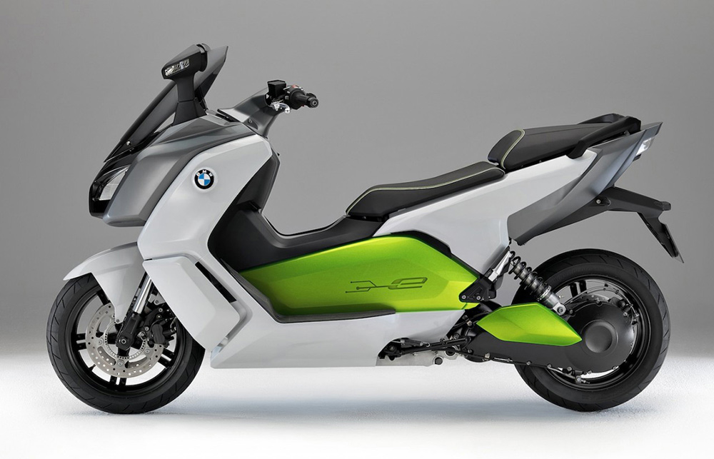 claymoto bmw c evolution electric scooter 2012. Black Bedroom Furniture Sets. Home Design Ideas