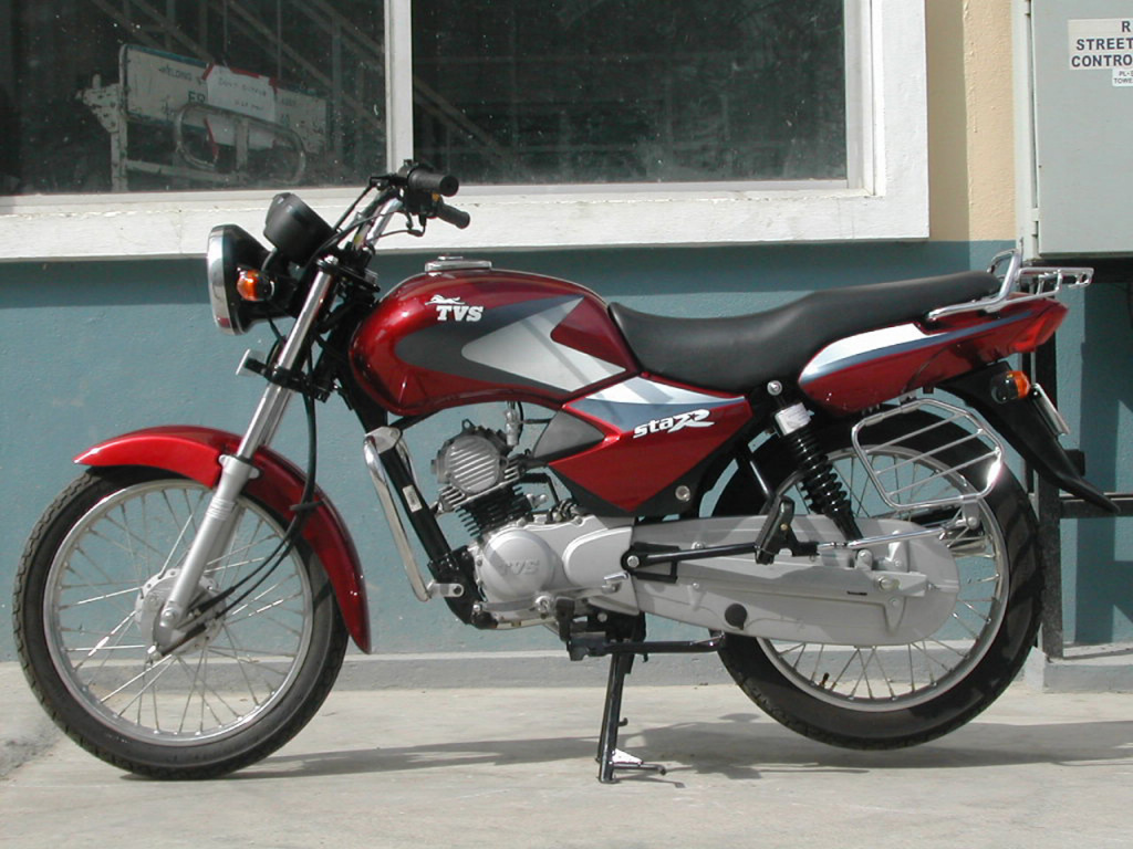 TVS Star DLX left side