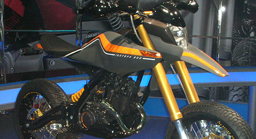 TVS Isotope 200 concept
