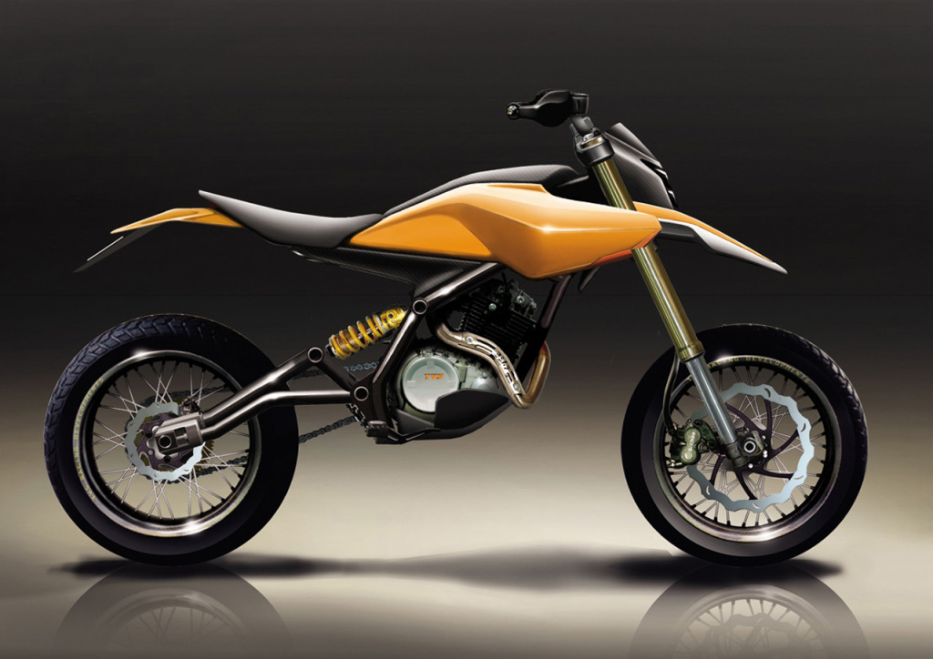 TVS Isotope 200 concept rendering