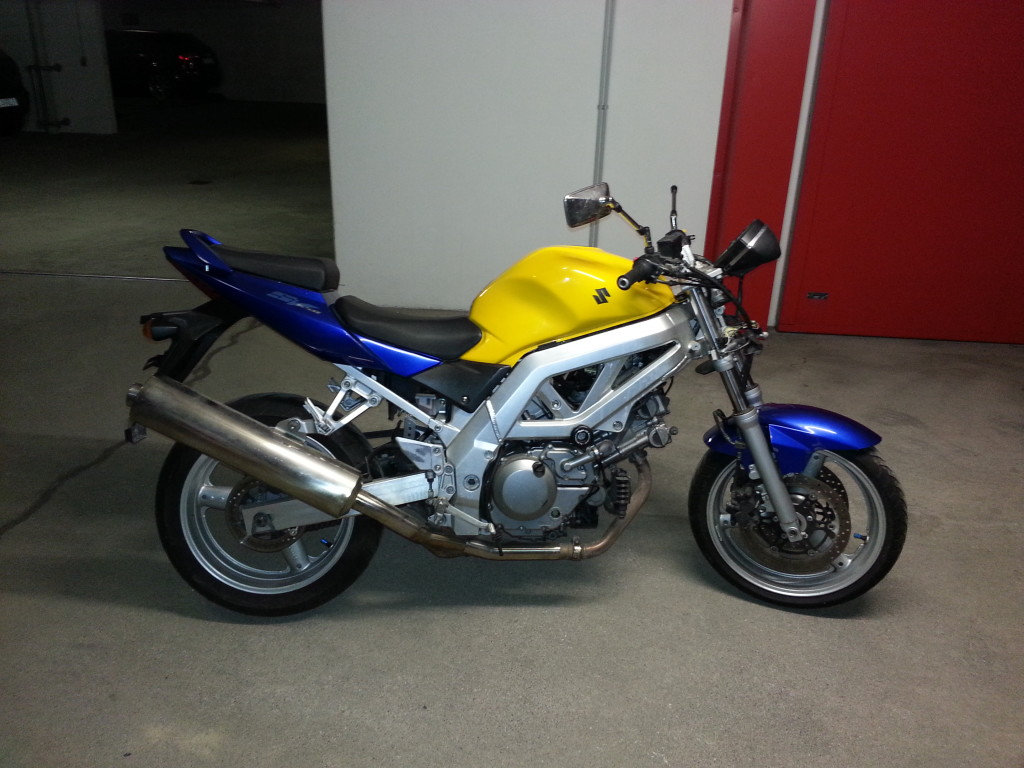SV650 before